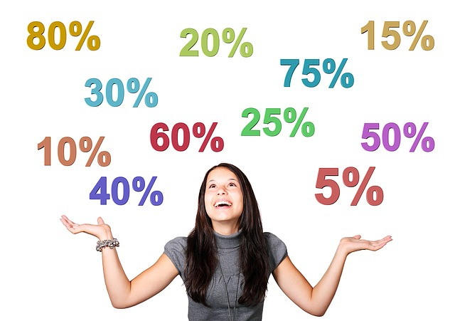 holka a procenta