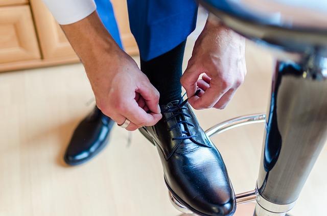 obouvání boty