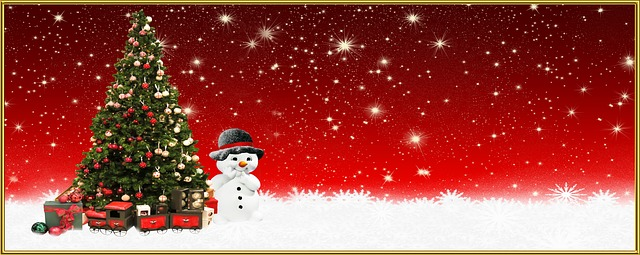vánoční leták