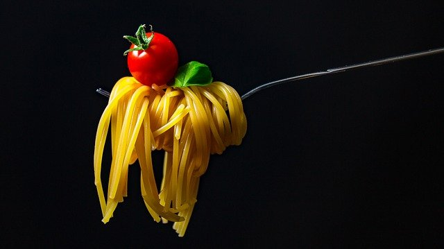 špagety a tomato