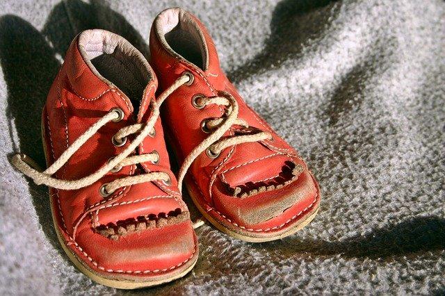 červené botičky