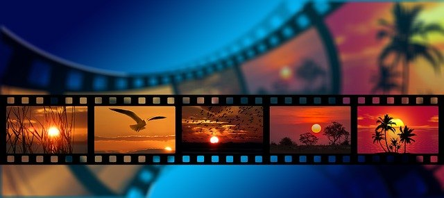 filmové záběry