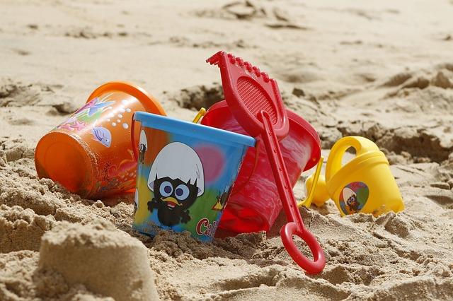 hračky na písek